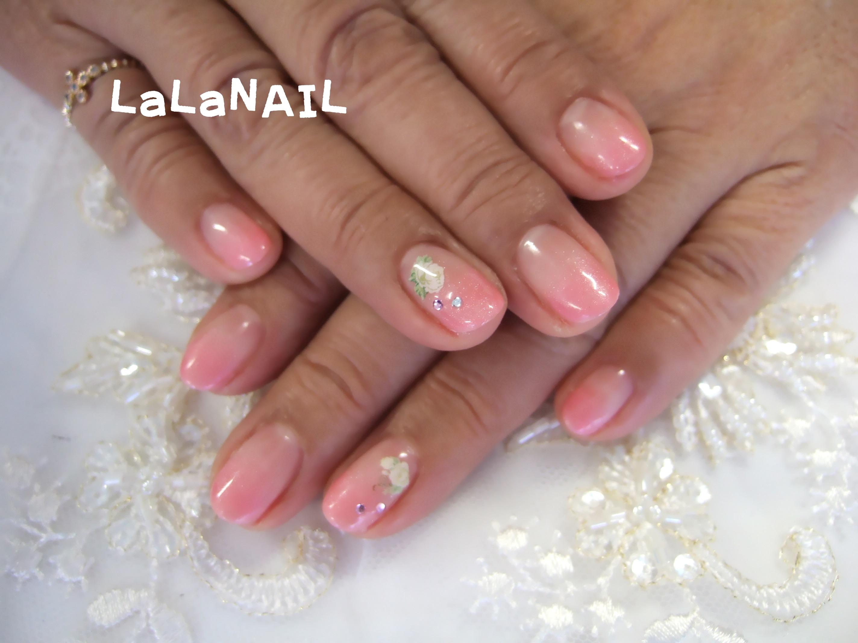 カラーグラデーション ピンク